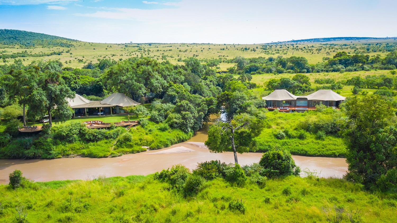 Sala's stunning tents Masai Mara Kenya